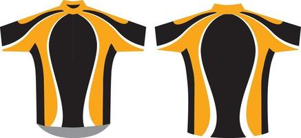 Cycling Jersey Sublimated Custom Designs vector