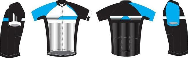 hombres de carrera camisetas de manga corta vector