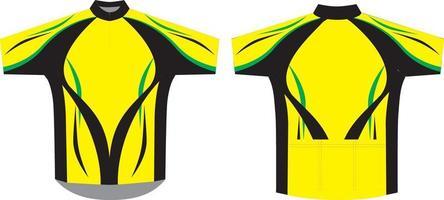 maillot de ciclismo sublimado diseños personalizados ilustraciones vector