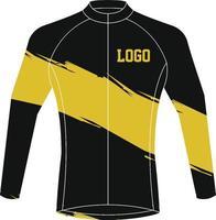 diseños personalizados de camisetas de ciclismo vector