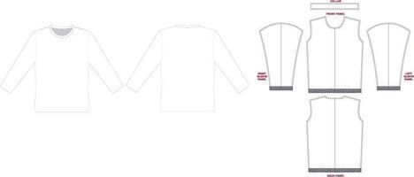 Sprint Long Sleeve Athletic Tee Mock ups artworks vector
