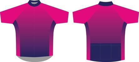 maillot de ciclismo sublimado diseños personalizados vector