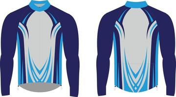 Cycling Sublimated Soft Shell Winter Jacket vector