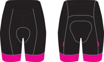 Men Cycling Shorts custom design mockups vector