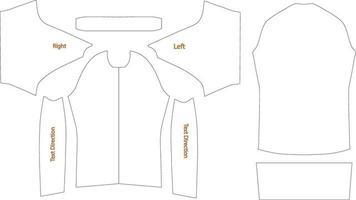 Artwork Template, Peloton Jersey Design vector