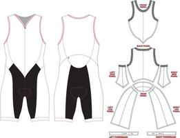 Fusion Tri Suit Mock ups and Artworks vector