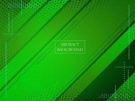 fondo elegante liso abstracto geométrico verde vector