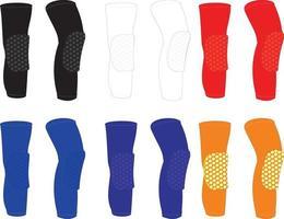 Knee pads Custom Design vector