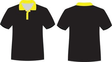 camiseta de media manga de diseño personalizado vector