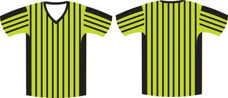referee t shirt mock ups vector