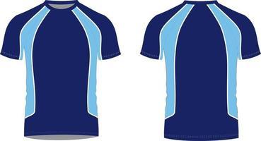 camisetas maquetas vector