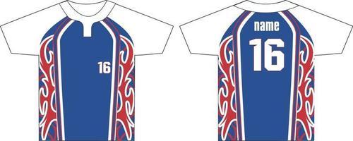 camisetas de dos botones con cuello redondo para hombre vector