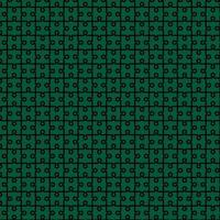 Jigsaw Abstract Pattern Background Design Green and Black vector