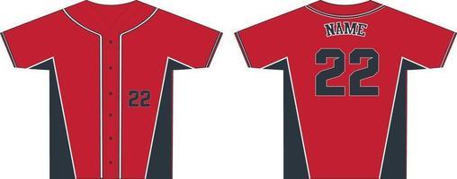 hombres camisetas de cuello redondo con botones completos vector