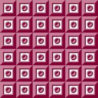 patrón nublado, patrón abstracto fondo magenta vector gratuito
