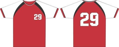 maquetas de camisetas de cuello redondo para hombres vector