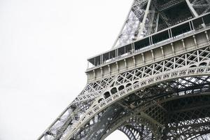 Eiffel tower in Paris, France photo