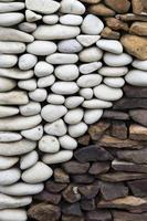 guijarros camino de piedra foto