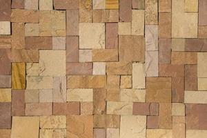 textura de la pared de piedras foto