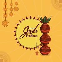 fondo de celebración feliz gudi padwa