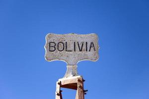 Bolivia Chile border photo