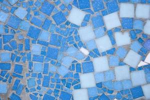Detail of the mosaic background photo