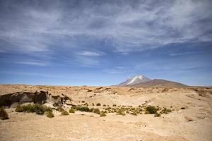 Volcán licancabur en reserva nacional de fauna andina eduardo avaroa en bolivia