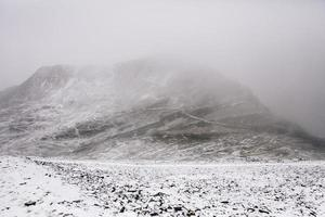 montaña chalcaltaya en bolivia foto