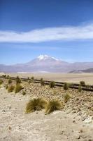 Volcán licancabur en bolivia