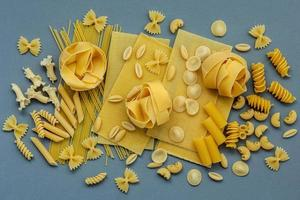 Assortment of pastas