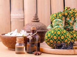 Herbal spa compress and treatment