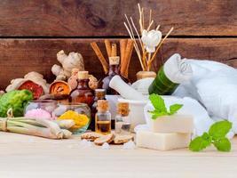 Aromatherapy spa care