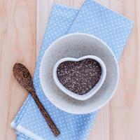 Alternative healthcare with chia seeds