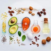 Unsaturated fat food selection