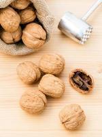 Bag of walnuts