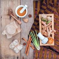Natural organic spa treatment