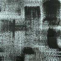 fondo de pintura abstracta en blanco y negro