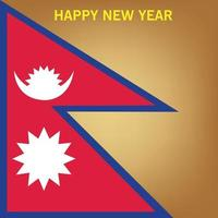 Vector illustration of a Background for Nepali New Year.