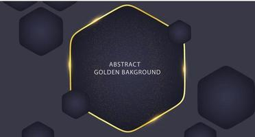 Gold abstract background. Black gold abstract background