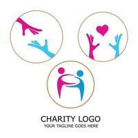 Hand Logo Collection Vector