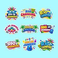 Rio De Janiero Sticker Collection