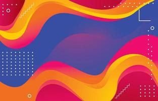 Abstract Shape Background Concept vector