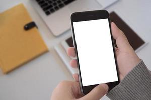 Mock up phone screen