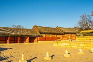 Palacio Changdeokgung en la ciudad de Seúl, Corea del Sur
