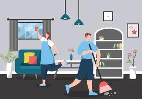 Cleaning Service Concept vector