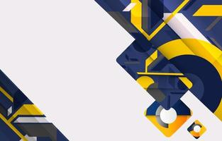 Futuristic Abstract Techno background vector