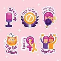 Women's Day Sticker vector