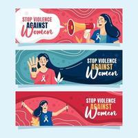 Stop Violence Against Women Banner