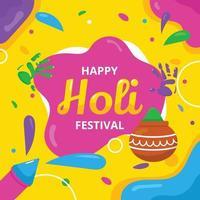 Holi Festival of Colours vector