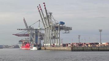 descarregamento do navio de carga video